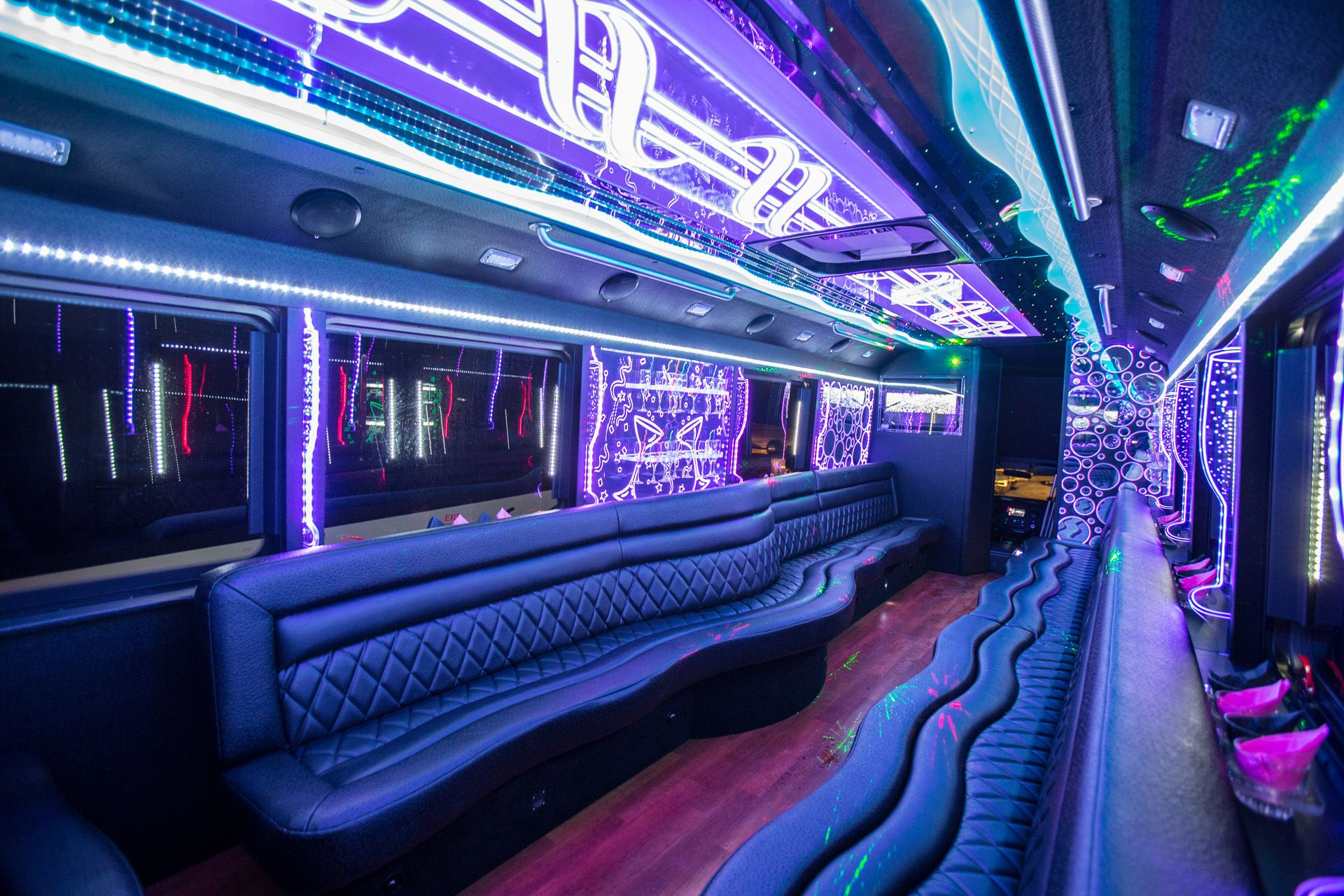 Cincinnati Event party buses